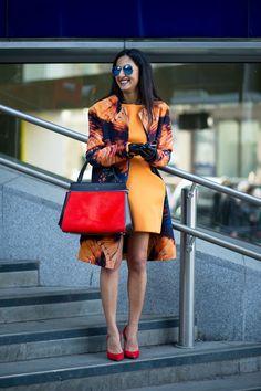 Nausheen Shah  The Year in Street Style: Céline Wins! - The Cut