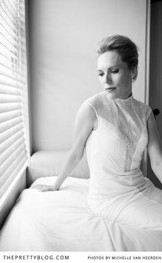 Detailed wedding dress | Photography: Michelle van Heerden Photography, Dress: Catinka Turner