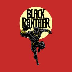 Awesome 'Black+Panther' design on TeePublic!
