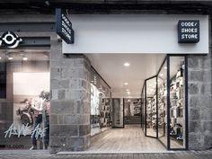 Pocket : trust in design: code shoe store
