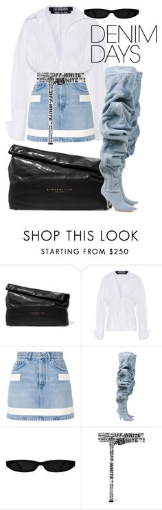 """""""Untitled #41"""" by fhily ❤ liked on Polyvore featuring Simon Miller, Jacquemus, Givenchy, Y/Project and Off-White"""
