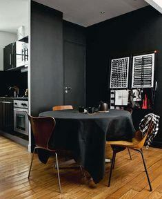 parisian room decor/images   all photography by morten holtum for elle decoration UK .