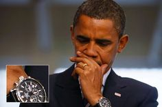 President barack obama Commemorative Edition Jorg Gray 6500 Chronograph