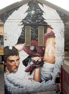 NEVE http://www.widewalls.ch/artist/neve/ #figurativeart #streetart #urbanart