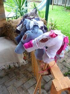 Horses at a Cowboy Party #cowboy #partyhorses