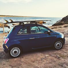 What will be your summer adventure? #Fiat500 #surf
