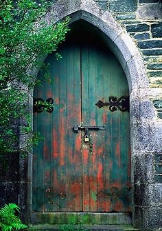 justcallmegrace:  Irish Door