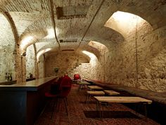 Ocaña nightclub, Barcelona bar and restaurant Barcelona Bars, Barcelona Hotels, Commercial Interior Design, Commercial Interiors, Bars And Clubs, Branding, Shop Interiors, Design Furniture, Another World