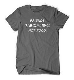 Vegan T-Shirt Vegetarian T Shirt Tee Mens Womens by BoooTees