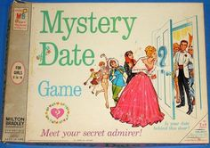 Mystery Date game, introduced 1965