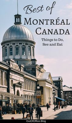 Montreal Canada has it all: French inspired cuisine, medieval inspired old town, cobblestone streets, French street signs, an underground city, street art, spiral staircases, horse drawn carriages, pedestrian only zones, parks, festivals. Click for 75 ways to experience Montreal's joie de vivre! #Montreal #Canada #ThingsToDo