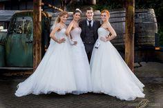 Kleider vom Haus der Braut auf der Hochzeitsmesse Mönchenu