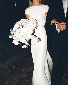 // Our bridal haute-couture, sur-mesure, designers dresses inspiration worldwide Perfect Wedding, Dream Wedding, Wedding Day, Tuxedo Wedding, Wedding Season, Elegant Wedding, Wedding Anniversary, Wedding Stuff, Wedding Styles