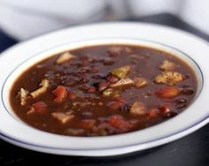 Slow-Cooked Spicy Black Bean Soup Recipe
