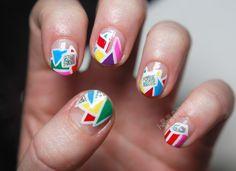 Freakin' sweet polygon nails