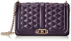 Loving this Rebecca Minkoff Love Cross Body Bag, Aubergine, One Size. Perfect look for any occasion.