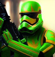 Weed trooper, nuff said