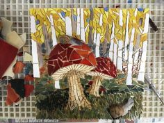 Mosaic Glass, Stained Glass, Glass Art, Eggshell Mosaic, Mosaic Animals, Mosaic Artwork, Mosaic Flowers, Garden Art, Home Projects