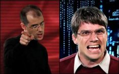 Epic Rap Battle of History takes on tech heavyweights -- late Apple innovator Steve Jobs and Microsoft chairman Bill Gates -- in this rap-off.