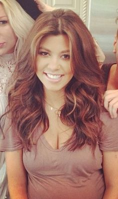 Kourtney kardashian hair inspiration