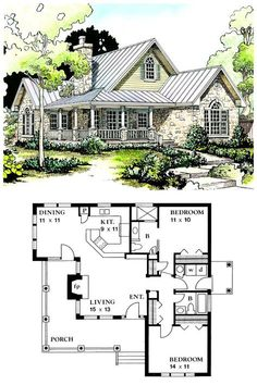 Country House Plan Source by Ranch House Plans, Bedroom House Plans, Best House Plans, Craftsman House Plans, Small House Plans, House Floor Plans, Cottage House Plans, Country House Plans, Cottage Homes