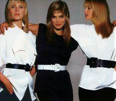 Moda. American Vogue, 1986. Rebecca Moses