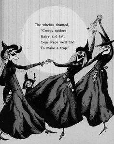 [ Halloween Quotes : Illustration Description Weeny Witch by Ida DeLage, illustrated by Kelly Oechsli. Retro Halloween, Halloween Poems, Halloween Pictures, Holidays Halloween, Halloween Crafts, Happy Halloween, Halloween Witches, Halloween Labels, Halloween Trophies