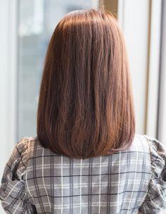 長めのボブストレート(YG-266)   ヘアカタログ・髪型・ヘアスタイル AFLOAT(アフロート)表参道・銀座・名古屋の美容室・美容院