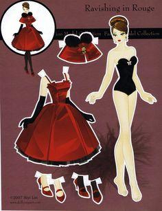 Fashion Model Collection 1 Paper Doll - Yakira Chandrani - Álbumes web de Picasa