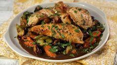Coq au Vin Roast Chicken Recipe   The Chew - ABC.com