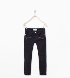 ZARA - KIDS - SEAMS AND ZIPS TROUSERS