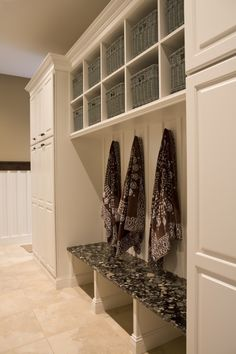 I would love this as a Mud Room at my front entry which will soon be my back door.