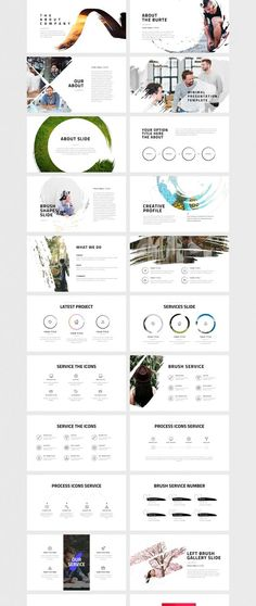 A powerful & creative slide presentation designed for Keynote & Powerpoint. Burte includes 150+ unique presentation slides with a stunning professional layout and creative design. Easy to change colors, modify shapes, texts, & charts. All shapes are edita…