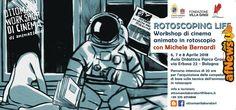"""""""Rotoscoping Life"""" a Bologna: imparare l'animazione con Michele Bernardi - http://www.afnews.info/wordpress/2018/03/31/rotoscoping-life-a-bologna-imparare-lanimazione-con-michele-bernardi/"""