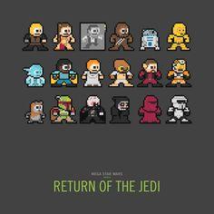 Mega Star Wars: Return of the Jedi