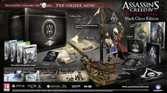 Doppio Unboxing Assassin's Creed IV Black Flag Black Chest Edition per e Xbox 360 Assassins Creed Black Flag, Assassins Creed Game, Wii U, Assassin's Creed Flags, Ps3, Xbox 360, Soundtrack, Diorama, Hidden Mystery