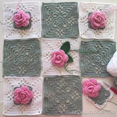 DIY – Victorian Lattice Square o min variant av Lace Join – BautaWitch Joining Crochet Squares, Granny Square Crochet Pattern, Crochet Granny, Crochet Stitches, Free Crochet, Granny Squares, Crochet Bedspread Pattern, Crochet Patterns, Burlap Crafts