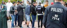 Oktober 2015: Immer haüfiger Streitereien und Schlägerreien in Flüchtlingsheimen: 100 Menschen standen sich gegenüber: Kuss als Auslöser: Polizei verhindert Eskalation in Flüchtlingsunterkunft