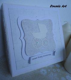 Drumla Art: kartka na Chrzest Ice Tray, Silicone Molds