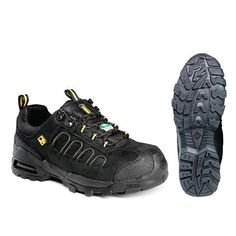 Shop Terra ARROW Men's Black Steel-Toe Shoes at Lowe's Canada. Find our selection of work boots at the lowest price guaranteed with price match. Steel Toe Shoes, Hiking Boots, Arrow, Accessories, Black, Products, Fashion, Walking Boots, Moda