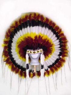 WILD SKY INDIAN HEADDRESS WAR BONNET