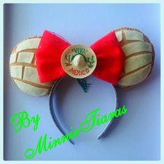 NEW ITEM Pan Dulce Concha Mexican Sweet Bread Dia De Los Muertos by MinnieTiaras on Etsy