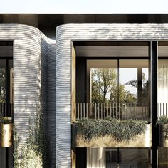 A boutique ensemble of twelve apartments, DKO's architectural response for Balwyn Park is one that remains synonymous with the heritage… A Boutique, Exterior, Park, Architecture, Apartments, House, Facades, Instagram, Fendi