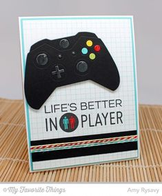 Die-namics Game Controller Die and Level Up Stamps by MFT – Just released –