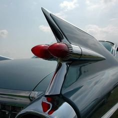 The most famous and most published tailfin inspired by jets.