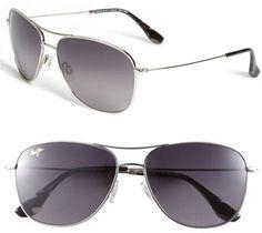 #Maui Jim                 #Eyewear                  #Maui #'Cliff #House #PolarizedPlus' #59mm #Metal #Aviator #Sunglasses #Silver #Size                    Maui Jim 'Cliff House - PolarizedPlus' 59mm Metal Aviator Sunglasses Silver One Size                                              http://www.seapai.com/product.aspx?PID=5116679