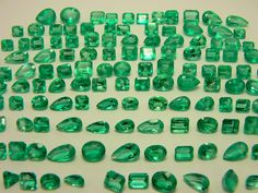 198cts of Green! Loose Natural Colombian Emeralds~
