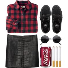 """""""Lookin' like a tramp, like a video vamp"""" by rosiee22 on Polyvore"""