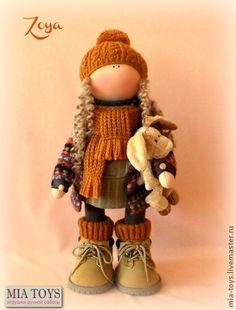 Кукла Зоя - кукла ручной работы,игрушка ручной работы,авторская игрушка