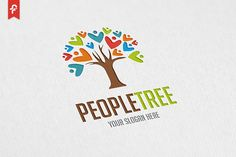 People Tree Logo by ft.studio on @creativemarket